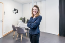 Audrey Morin orthoptiste photo Yves Rousseau