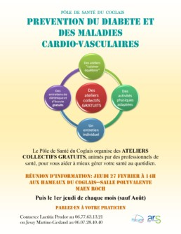 Prevention Diabete maladies cardio vasculaires flyer 2020 00